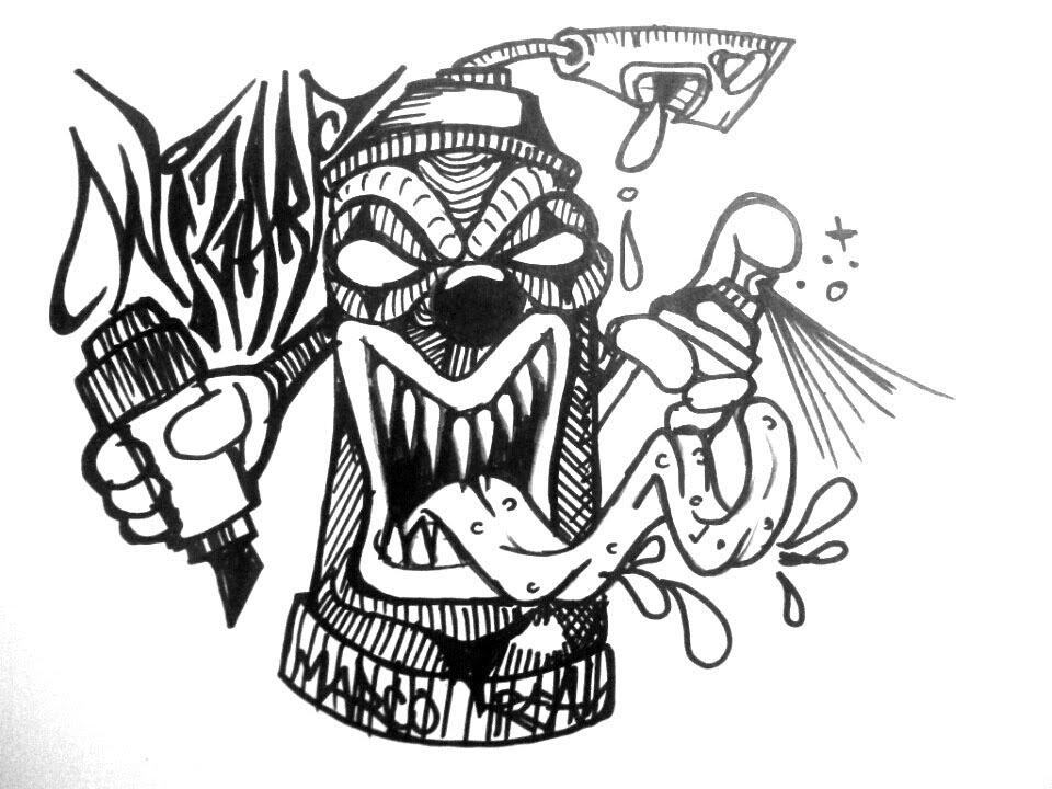 Insane Clown Posse Spray Paint