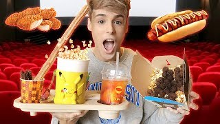 i only ate JAPANESE MOVIE THEATRE foods for a day