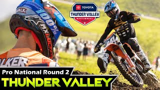 FIRST PRO RACE OF THE YEAR! Thunder Valley Pro National Vlog