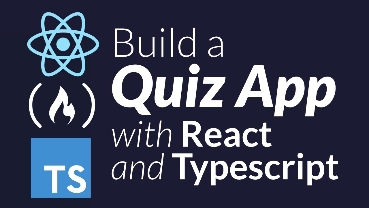 How to use React and TypeScript to Create a Quiz App Project