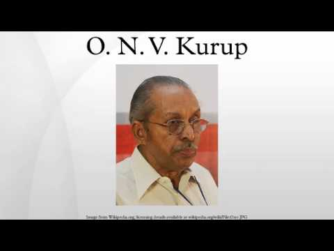 O. N. V. Kurup