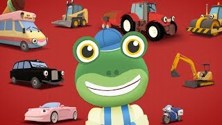 Learning To Count - Counting Small Trucks - Learn With Gecko | Trucks For Kids