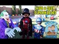 HIDE and SEEK with SUPERHEROES 3 | MAGIC HOUSE| DEION'S PLAYTIME
