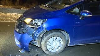 Подставное ДТП с участием трех автомобилей произошло на Сафонова