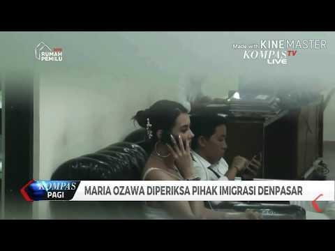 Maria Ozawa Ditangkap - Kepolisian Bali ( Full Video )