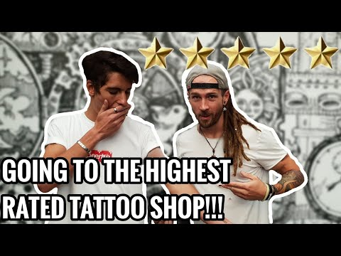 Best rated tattoo shops near me