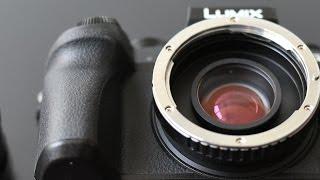 Panasonic G7 + Lens Turbo Test with Vintage Lenses