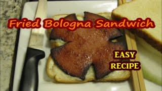 Fried Bologna Sandwich Soul Food