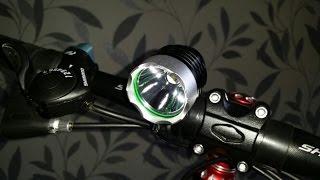 Обзор USB фонаря для велосипеда с aliexpress за 5 $