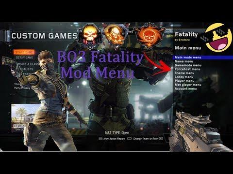 [PS3/BO3/1.07]Fatality Mod Menu By Enstone (Rank+Derank+more)