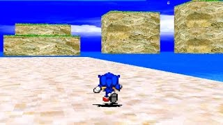 Awful PC Games: Sonic Speed Blast 3D Review