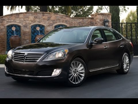 2016 Hyundai Equus Ultimate Start Up and Review 5.0 L V8