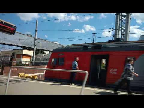 . Клин-Останкино-Ленинградский вокзал. Поездка на поезде FIFA