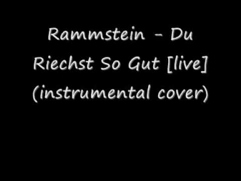 Rammstein - Du Riechst So Gut (instrumental cover)