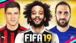 PIATEK, HIGUAIN E ALTRI COLPI UFFICIALI!!! TOP 10 TRASFERIMENTI INVERNALI FIFA 19 | Marcelo, Boateng