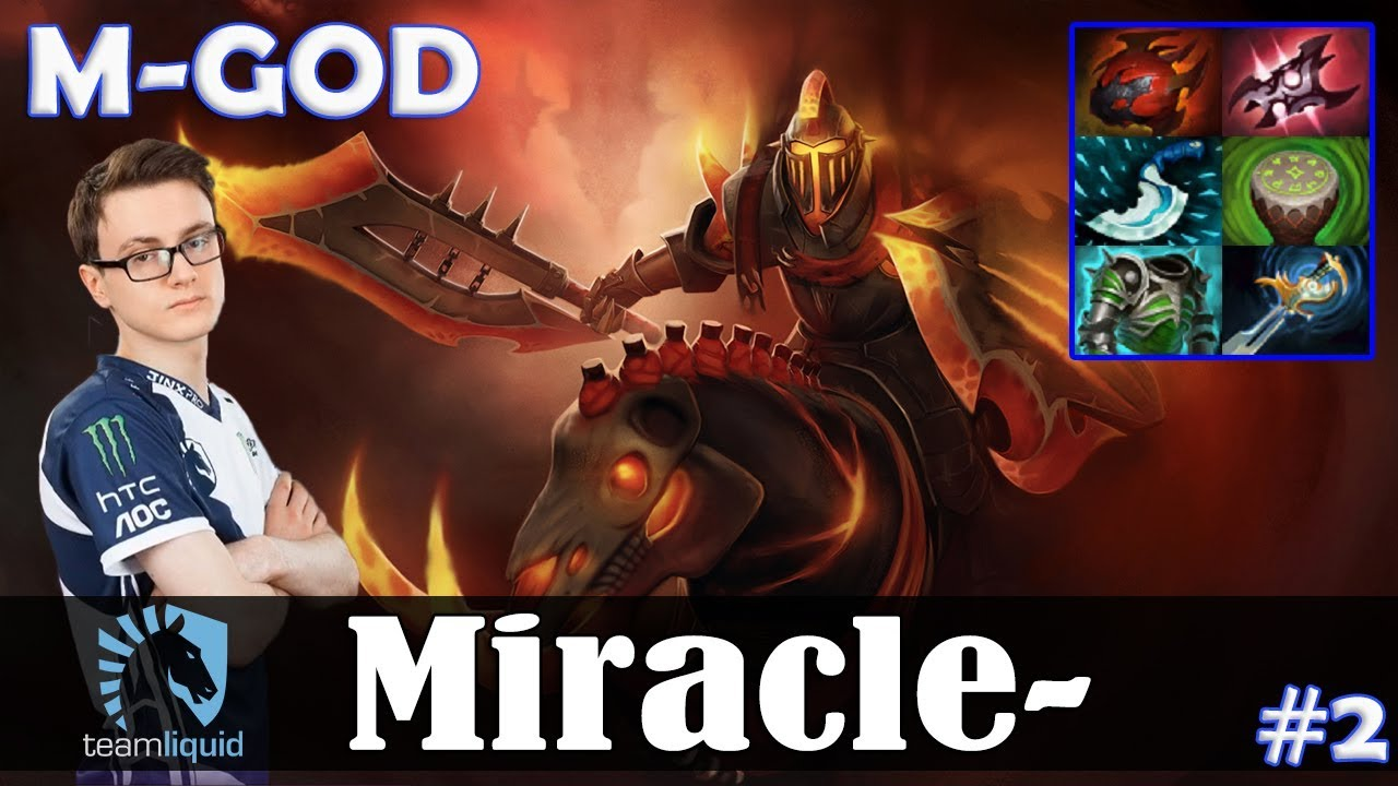 Miracle Chaos Knight Safelane M God Dota  Pro Mmr Gameplay