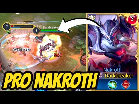 NAKROTH PRO SOLO RANK - NEW SKIN REWORK + Commentary | AoV | 傳說對決 | RoV | Liên Quân Mobile