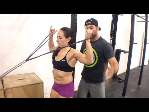 WODdoc Project365 Episode 132: SLAP Tear Rehab Part 1; Featuring Amy Mandelbaum