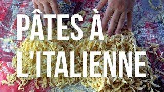 MEILLEURES PÂTES MAISON À L'ITALIENNE - LRDD#1