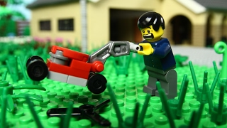 Lego Lawn Mower Fail