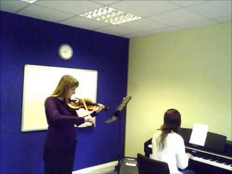 Violin  Sindy  Grade 2 Piece  A to G Music School Sutton  Lessons  Teacher