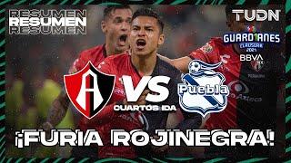 Resumen y goles   Atlas vs Puebla   Torneo Guard1anes 2021 BBVA MX 4tos   TUDN