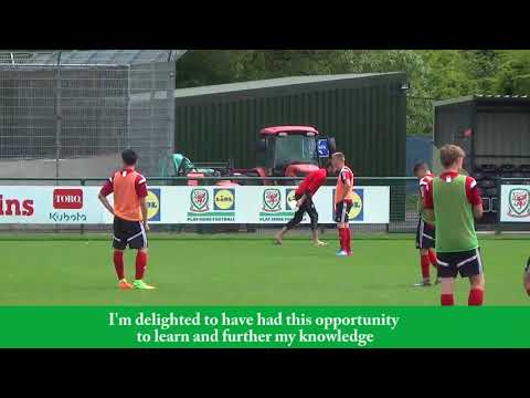 FAW Trust Video - FAW/UEFA B Licence Coach