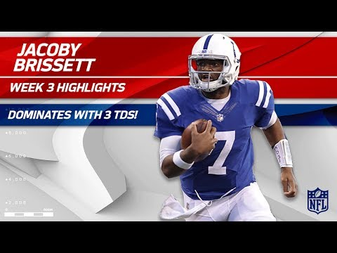 Jacoby Brissett's 3 TD Game vs. Cleveland | Browns vs. Colts | Wk 3 Player Highlights