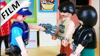 Playmobil Polizei Verbrecher Film deutsch - Sozialstunden im Playmobil Hotel - Playmobil Stories