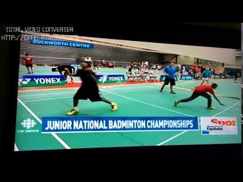 2015 Jr. U23 Canadian Badminton Nationals CBC Winnipeg Report