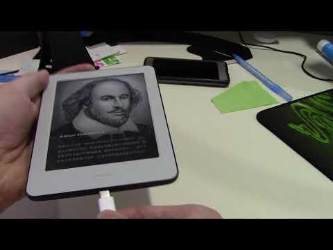 Электронная книга ридер Xiaomi Mi Reader - первый взгляд