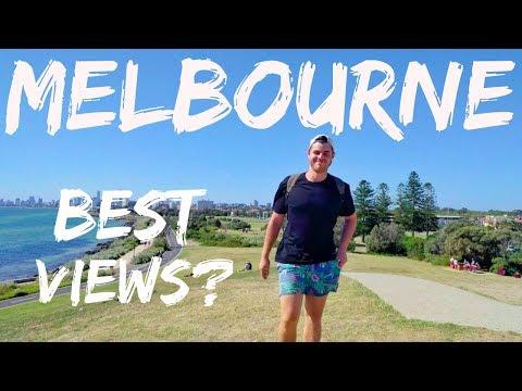 Melbourne Australia Best Views? Fitzroy - St Kilda - Downtown Vlog