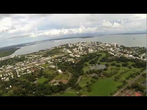 Flying Australia - Evening flight over Darwin City & Beaches