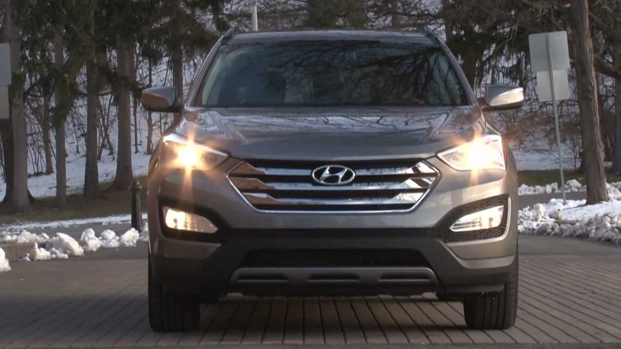 2013 Hyundai Santa Fe Sport   Drive Time Review With Steve Hammes |  TestDriveNow   YouTube