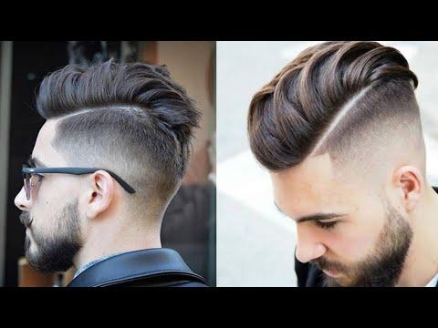 قصات شعر قصير مدرج فرنسي رجالي