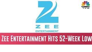 Zee Entertainment Hits 52-Week Low On Reports Of SFIO Probe, Stock Plunges 31% | Your Stock