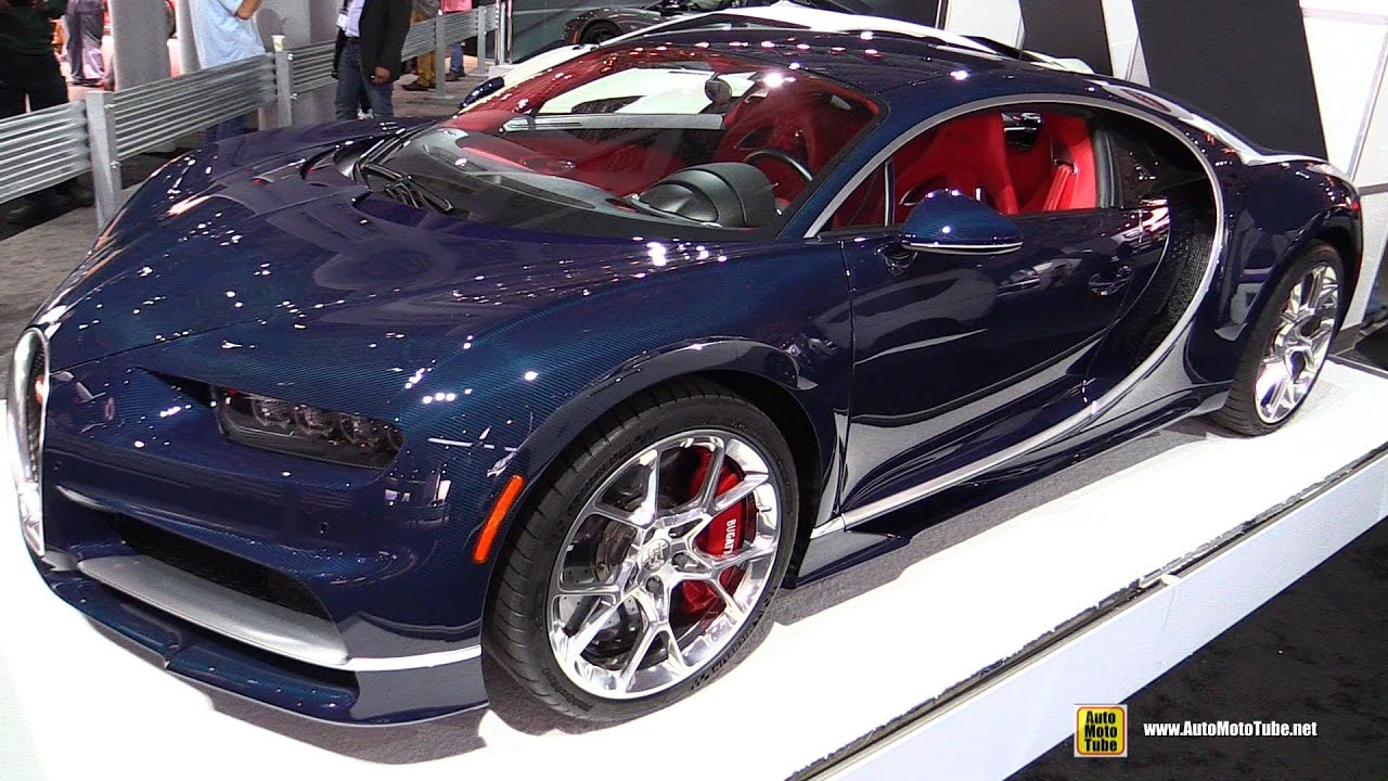 2017 Bugatti Chiron Walkaround 2017 New York Auto Show Youtube