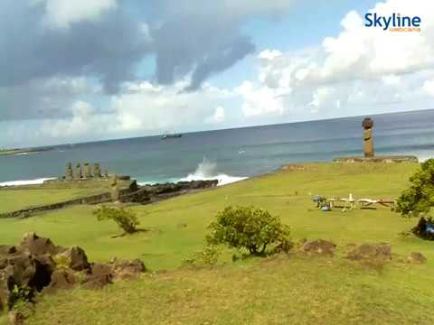 Live Webcam from the Easter Island - Chile