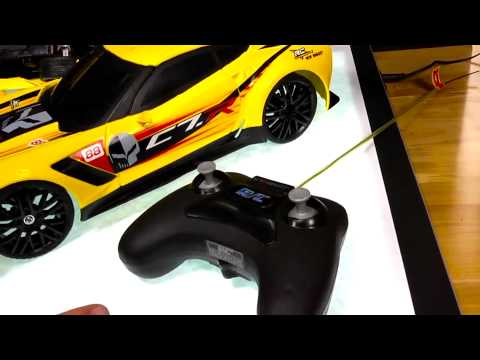 New Bright Test Lab: CORVETTE C7R RC CHARGER - YouTube