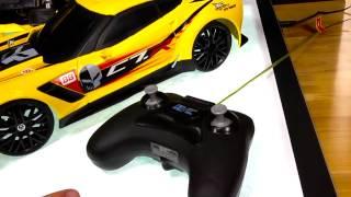 new bright test lab corvette c7r rc charger