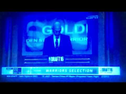 Warriors pick Damian Jones