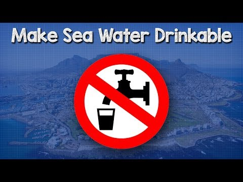 Convert Sea Water to Fresh Water, Why we need to - isave filter salt water