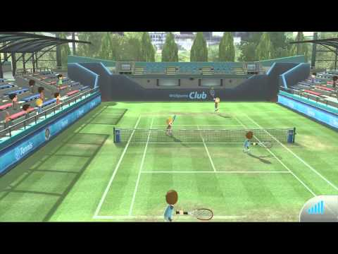 Wii Sports Club Online - Part 2 - Tennis