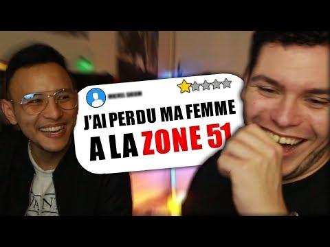 LES PIRES AVIS DE LA ZONE 51 ! (Et C'est Drole.)