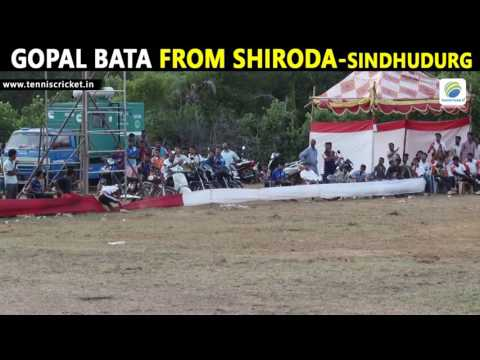 Gopal Bata From Shiroda Batting | SAPL 2016