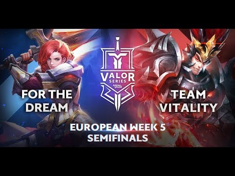 For the Dream vs. Team Vitality | Valor Series [European] Week 5 [Semifinal]