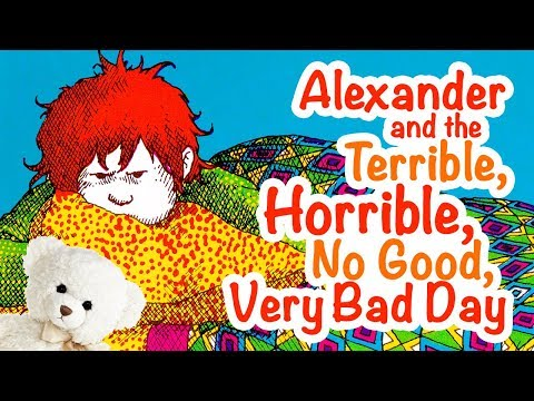 Alexander And The Terrible Horrible No Good Very Bad Day By Judith Viorst | Ms. Becky's Storytime