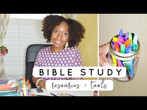 Favorite Bible Study Resources + Tools