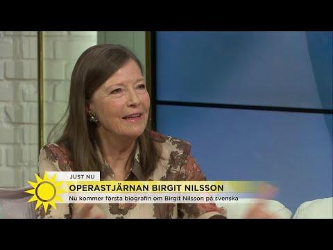 Nu kommer första biografin om Operastjärnan Birgit Nilsson  - Nyhetsmorgon (TV4)