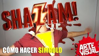 SHAZAM! - CÓMO HACER SÍMBOLO #SHAZAM @ShazamMovie